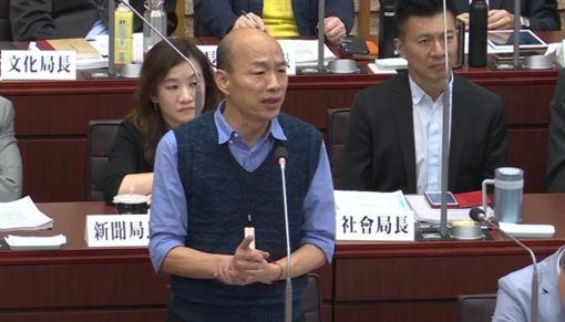 0514韓國瑜面對國民黨議員童燕珍質詢,新聞台