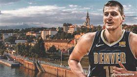 NBA/不邀隊友回祖國 約基奇笑答 NBA,季後賽,丹佛金塊,Nikola Jokic,塞爾維亞 翻攝自推特ClutchPoints
