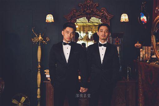 台北,同志,婚姻,結婚。阿拓提供
