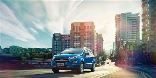 ▲活動期間入主動勁智能輕休旅Ford EcoSport即享舊換新現金價59.9萬元。(圖/Ford提供)
