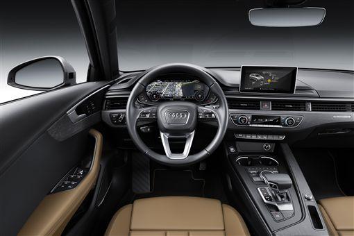 ▲Audi A4 Avant擁有車內創新科技。(圖/Audi提供)