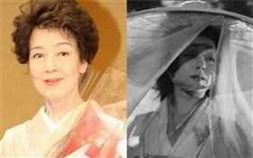 曾演出《羅生門》的日本知名女演員京町子(京マチ子)驚傳心臟衰竭病逝。翻攝自推特