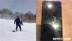 新加坡男遊日掉手機,4個月後澳洲男撿到越洋聯絡/李慶鴻授權提供