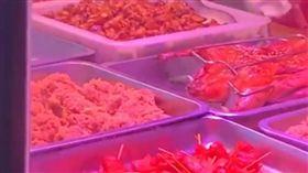 大陸武漢滷味店用毒品調味。(圖/翻攝自梨視頻)