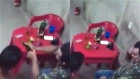 巴西,伊泰圖巴,警察,爆頭(圖/翻攝自YouTube)