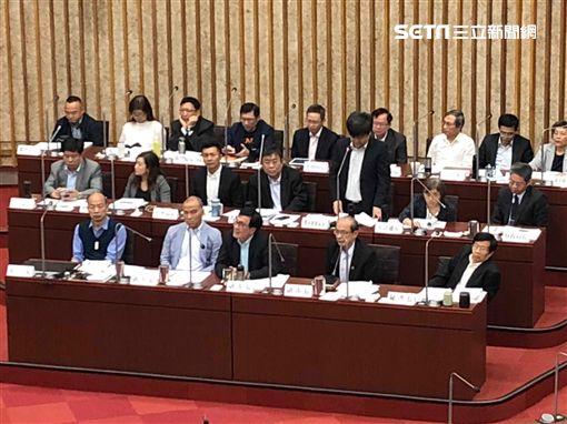 韓國瑜,黃捷,高雄,議會,李喬如,質詢