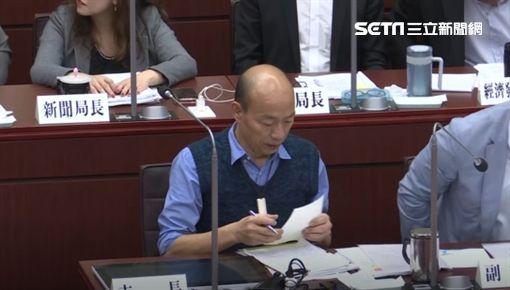 韓國瑜,總質詢,小抄,黃捷,新聞台