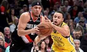 NBA/勇士大勝!柯瑞哥飆9顆三分 NBA,季後賽,金州勇士,Stephen Curry,波特蘭拓荒者,Seth Curry 翻攝自推特