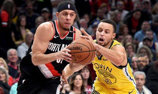 NBA/勇士大勝!柯瑞哥飆9顆三分NBA,季後賽,金州勇士,Stephen Curry,波特蘭拓荒者,Seth Curry翻攝自推特