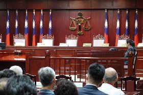 大法官年改釋憲說明會 提案立委未出席