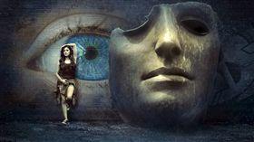 面具  圖/pixabay