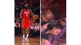 NBA/有妹!哈登夜店狂歡影片流出 NBA,季後賽,休士頓火箭,James Harden,夜店 翻攝自推特