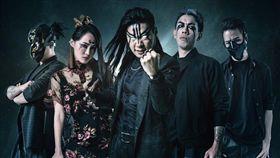 《閃靈樂團》在全球地下暗黑搖滾界具相當份量。(圖/翻攝閃靈樂團粉絲團)