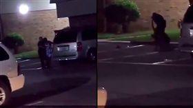 美國,德州,貝敦,警察,開槍,45歲,女子。(圖/翻攝自推特/Chris Landry)