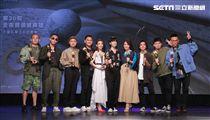 戴佩妮、黃妃、桑布伊、茄子蛋、玖壹壹公布第30屆金曲獎入圍名單。(記者邱榮吉/攝影)