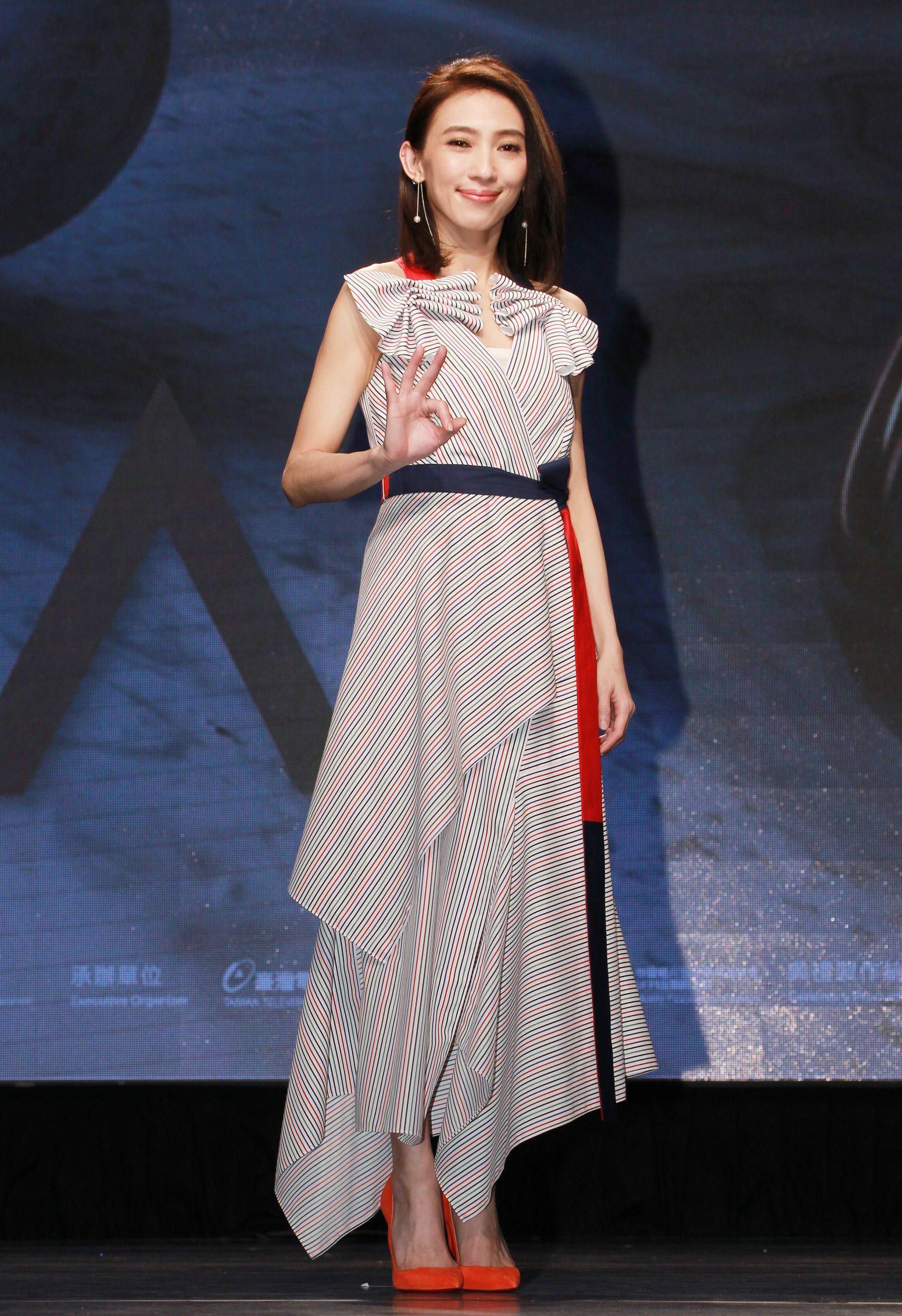 戴佩妮公布第30屆金曲獎入圍名單。(記者邱榮吉/攝影)