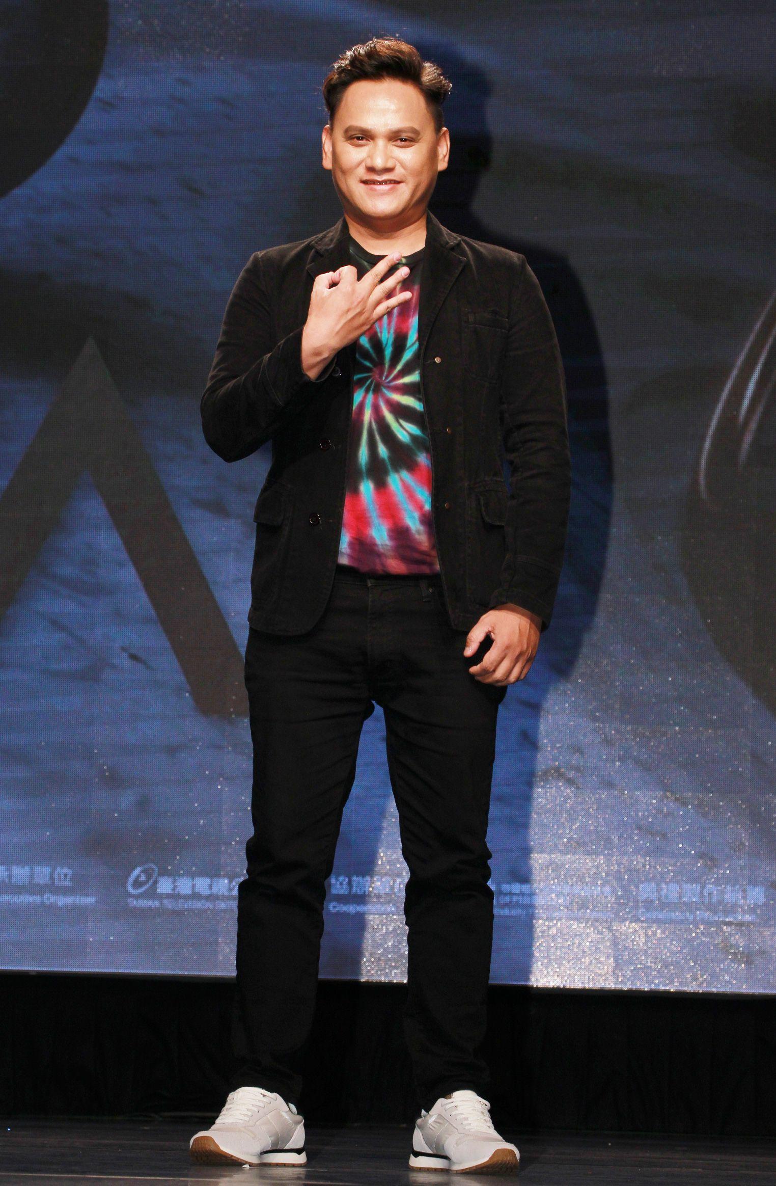 桑布伊公布第30屆金曲獎入圍名單。(記者邱榮吉/攝影)