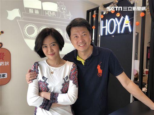 吳皓昇、文汶夫妻檔日前一同上4GTV《你在大聲什麼啦》 圖/民視提供