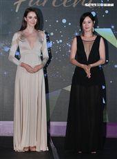 Janet、瑞莎性感爆乳出席璀璨名媛系列新品發表會。(記者邱榮吉/攝影)