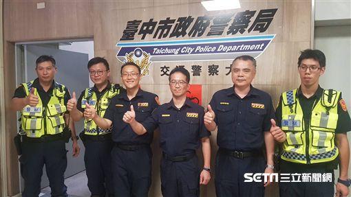 中市警察局交通警察大隊成立「交通事故診療團」/翻攝畫面