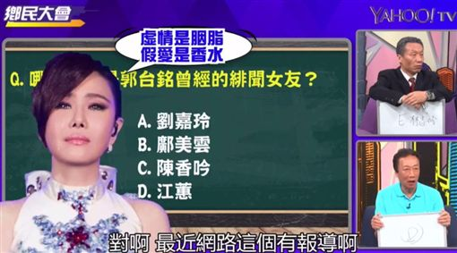 郭台銘,yahoo tv