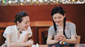 由大小S和好姐妹范曉萱與阿雅一起合體主持的實境旅遊節目《我們是真正的朋友》 圖/WeTV提供