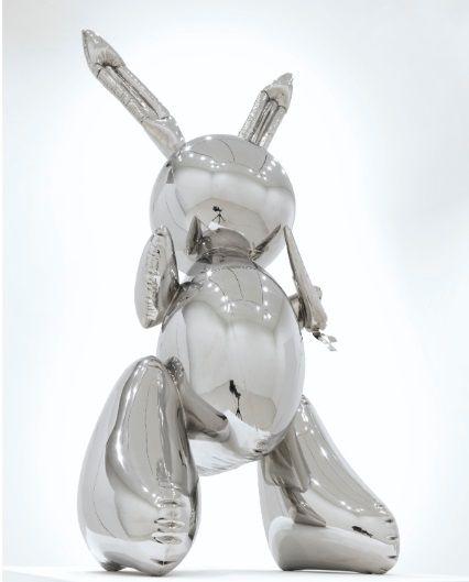 破紀錄!這隻兔子近100公分高 身價飆破28億台幣Rabbit,兔子,拍賣傑夫昆斯,Jeff Koons圖/翻攝自佳士得官網