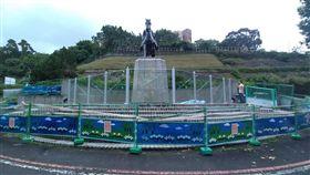 護蔣公銅像 超強防護罩長這樣 政大,蔣公