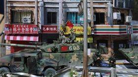 陸模型賽現共軍攻台作品 學者:民間仇台情緒升(圖/翻攝自微博)