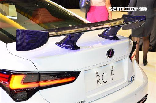 ▲LEXUS RC F Track Edition。(圖/鍾釗榛攝影)