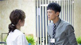 鍾承翰飾演的陳博昀熱血正義,與天心飾演的方箏有不少對手戲。(圖/中天電視提供)