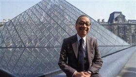 華裔建築師貝聿銘(圖/翻攝自推特)