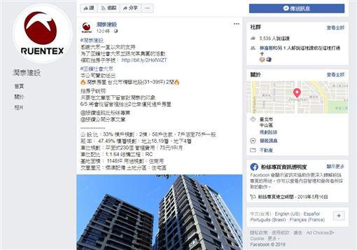 建商,遠雄,潤泰,信義房屋,臉書詐騙