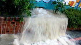 新竹,暴雨,便利商店,降雨,淹水