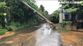 電線桿,新豐鄉,新竹,暴雨