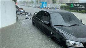新竹,暴雨,湖口工業區,降雨,淹水
