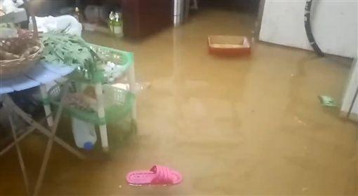 新竹,湖口,雨,淹水,對流雲系
