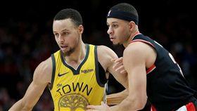 NBA/柯瑞哥飆37分…被弟抄3球 NBA,季後賽,金州勇士,Stephen Curry,波特蘭拓荒者,Seth Curry 翻攝自推特