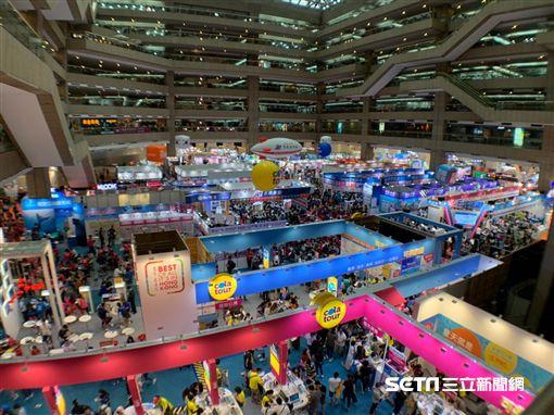 台北國際旅展。(圖/記者馮珮汶攝)
