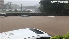 淹水,北湖車站,新竹