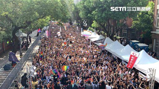 同婚專法,同婚,彩虹,同志,同性戀(圖/記者呂品逸攝影)