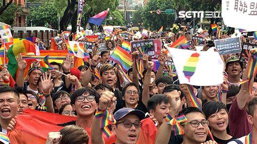 同婚專法,同婚,同志,同性戀,彩虹(圖/記者呂品逸攝影)