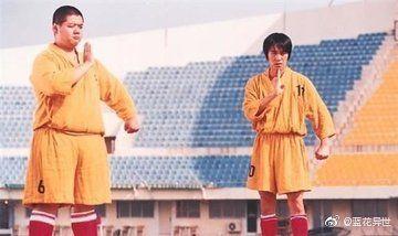 林子聰,少林足球。(圖/臉書、微博)