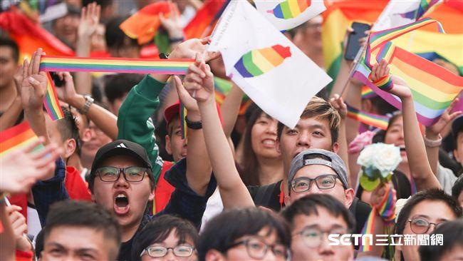 愛最大!52.5%台灣人力挺同性婚姻 2年內狂漲15%