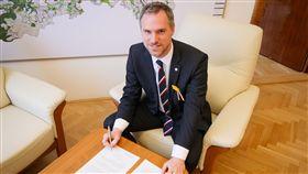 布拉格市長賀瑞普布拉格市長賀瑞普致函世界衛生組織,呼籲接納台灣。(布拉格市長辦公室提供)中央社記者林育立柏林傳真 108年5月17日