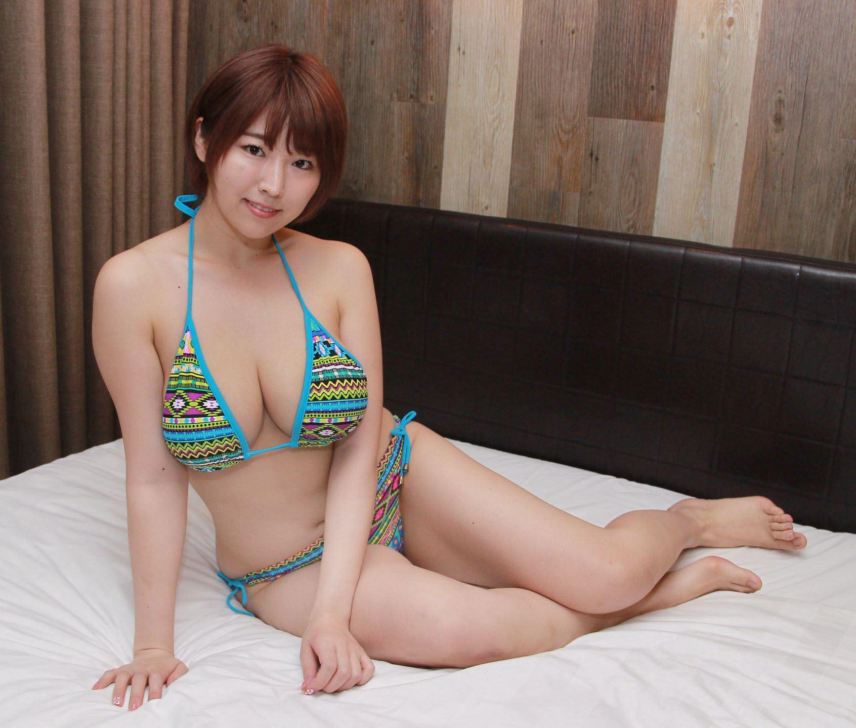 日本AV女優松本菜奈實8月來台成人展站台。(記者邱榮吉/攝影)