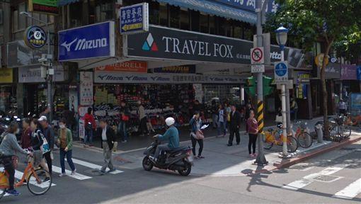 行天宮站旁38年運動用品店黯然退場(圖/翻攝自Google Map)