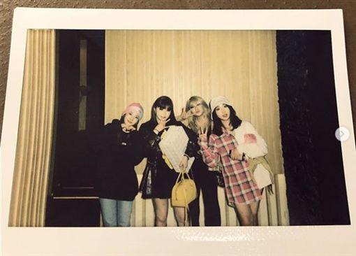 畫面翻攝IG 2NE1成員