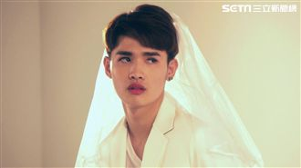 同婚法案過關!鍾明軒穿婚紗:愛台灣