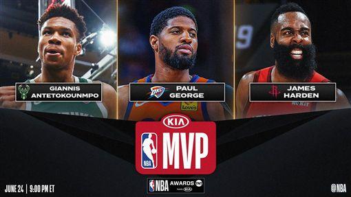 MVP候選人。(圖/翻攝自NBA官方推特)